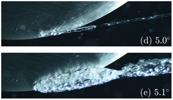 Nucleation effects on hydrofoil tip vortex cavitation