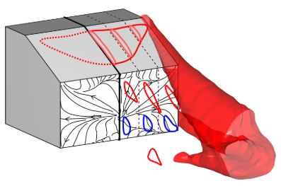 Vortex structures in the wakes of two- and three-dimensional bodies